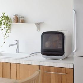 コンパクト食洗機 - セシール ■カラー:ホワイト