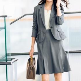 40%OFF【レディース】 スカートスーツ ■カラー:ライトグレー ■サイズ:9号,15号,7号,13号,5号(プチサイズ),11号