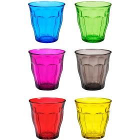 Duralex グラス カラフル(6点セット)