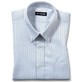【メンズ】 出張や洗い替えにも便利!形態安定Yシャツ(長袖)(S-5L) ■カラー:ストライプB(ボタンダウン衿) ■サイズ:M,3L,LL,L,5L,S,4L