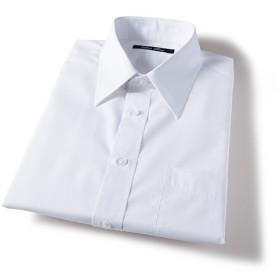 25%OFF【メンズ】 形態安定衿型バリエーションYシャツ(半袖) ■カラー:ホワイトA(レギュラー衿) ■サイズ:5L