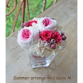 Summer arrange Red apple M