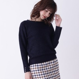 [マルイ]【セール】Lセーター(【WEB限定サイズあり】ラメガーター袖口パールプルオーバー)/グローブ(grove)