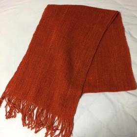 羊毛ストール手織り