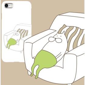 ねこタイツの休日スマホケース iPhone/Android対応