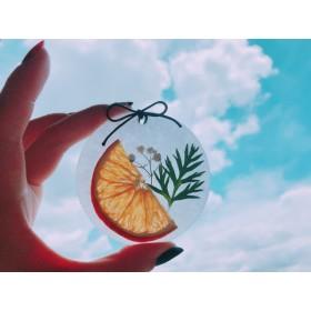 オレンジ アロマワックスバー