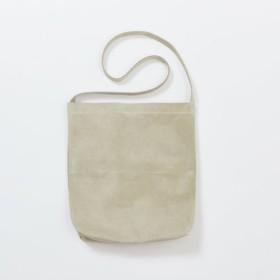 320dfddc720c 【送料無料】 レザー ショルダーバッグ ベージュ M | レディース メンズ 豚革 クラッチバッグ