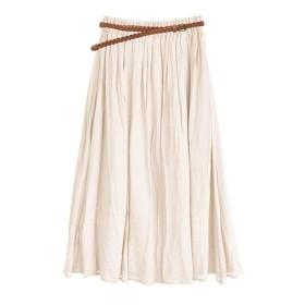 [マルイ] zootie(ズーティー):メッシュベルト付き スラブギャザースカート/イーザッカマニアストアーズ(e-zakkamania stores)
