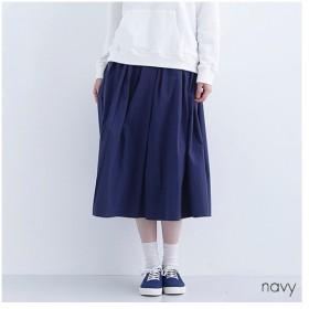 [マルイ] 【IKYU】コットンギャザーロングスカート/メルロープラス(merlotPLUS)