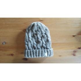変わり縄編みの帽子(3)