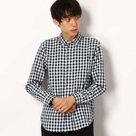 [マルイ]【セール】オックス組織ギンガムチェックシャツ/エーグル(AIGLE)