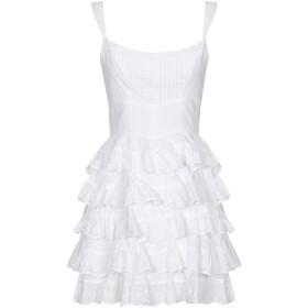 《期間限定 セール開催中》GUESS レディース ミニワンピース&ドレス ホワイト M コットン 100%