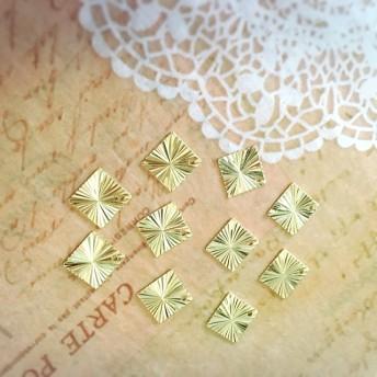 ゴールド 幾何チャームセット ハンドメイドアクセサリー