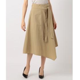 [マルイ]【セール】【イレギュラーヘムが美しい】Taslan Taffeta スカート/アイシービー L(ICB L)