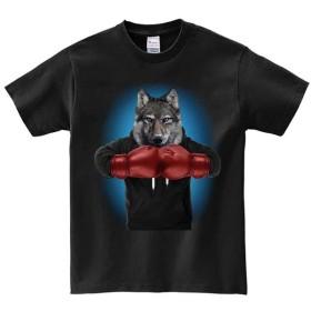 半袖Tシャツ 【オオカミ・ボクシング】 by FOX REPUBLIC