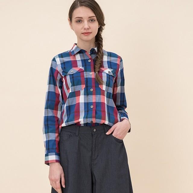 [マルイ]【セール】Wチェックシャツ/エーグル(AIGLE)