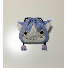ネコの巾着