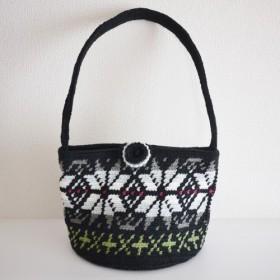 手編み ショルダーバッグ