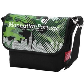 [マルイ] Canvas Art Print Vintage Messenger Bag JR/マンハッタンポーテージ(Manhattan Portage)