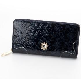[マルイ] ルーミーラウンド長財布(カード入れ25ヶ所の大容量)/アナスイ(ANNA SUI)