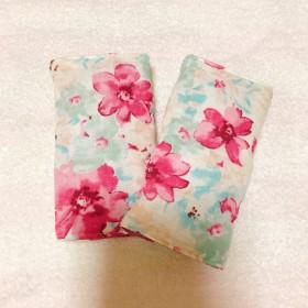 抱っこ紐用よだれカバー《ピンク花柄》
