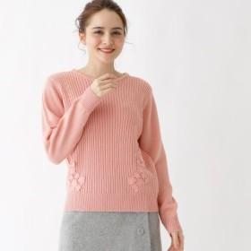 [マルイ]【セール】Lセーター(【WEB限定サイズ(S・LL)あり】サイドレースリブニット)/クチュールブローチ(Couture Brooch)