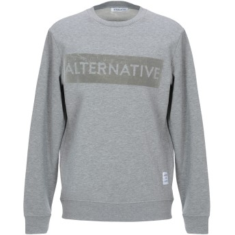 《セール開催中》ALTERNATIVE メンズ スウェットシャツ グレー M コットン 100%