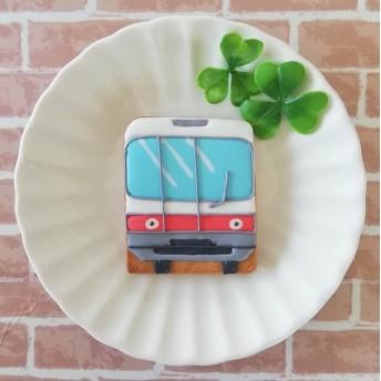 電車(正面)アイシングクッキー【平野パン・クッキー教室】