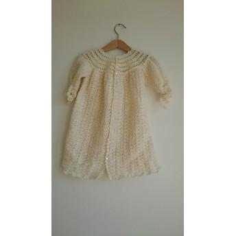 ウールのベビードレス