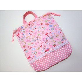バレリーナのお着換え袋☆ピンク☆
