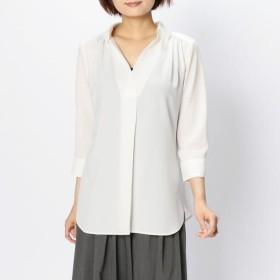 [マルイ]【セール】ソフトストレッチジョーゼットスキッパーシャツ/ナラカミーチェ(NARACAMICIE)