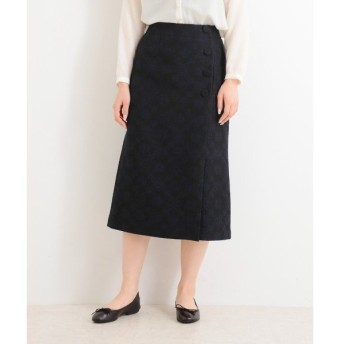 NIMES / ニーム C/WOOL JQ スカート