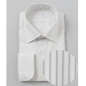 [マルイ]【セール】【日本製】【セミワイド】 SLOWVINTAGE ドレスシャツ ストライプ/五大陸(gotairiku)