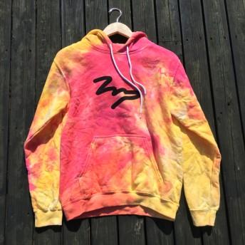 タイダイ染め IMPパーカー(hoodie):M