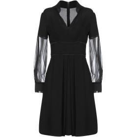 《期間限定 セール開催中》GIORGIO ARMANI レディース ミニワンピース&ドレス ブラック 40 シルク 100%