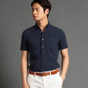 [マルイ]【セール】シアサッカー素材ボタンダウンシャツ/ムッシュニコル(MONSIEUR NICOLE)