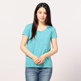 [マルイ]【セール】ピグメント染めクルーネックポケットTシャツ/フレディ&グロスター レディース(FREDY&GLOSTER)