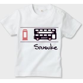 名前入れ Tシャツ 英国バスver.