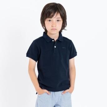 [マルイ] SHIPS KIDS:半袖 鹿の子 ポロシャツ(100-130cm)/シップス キッズ(SHIPS KIDS)
