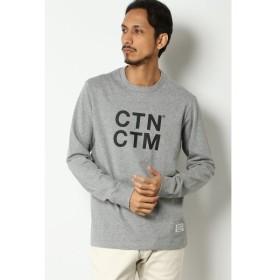 [マルイ] CANTON COTTON MILLS ロゴプリントTシャツ/イッカ メンズ(ikka)