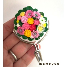 お花のマグネットフック