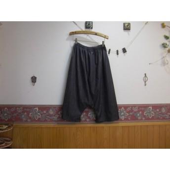 ☆ サルエルパンツ ☆綿系ダンガリー