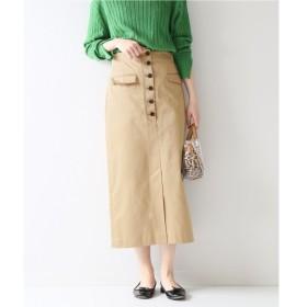 Spick & Span フロントボタンタイトスカート