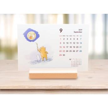 2019年 くまイラスト卓上カレンダー