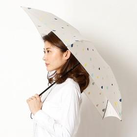[マルイ] 【雨晴兼用傘】カラフルドロップ(4段折りたたみ/レディース)/ビーサニー(BE SUNNY)