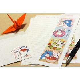 葵ちゃんの『折り紙奉書紙』レターセット 封筒1枚・便せん3枚 基本のセット