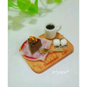 ☆チョコケーキ&ティーセット☆選べるドリンク