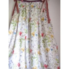リバティ イルマの上品ロングスカート