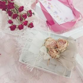 〜 dried flower 髪飾り 〜 ポニーフック