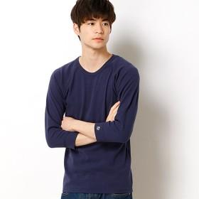 [マルイ] ヘビーリップル7分袖Tシャツ/クリフメイヤー(メンズ)(KRIFF MAYER)